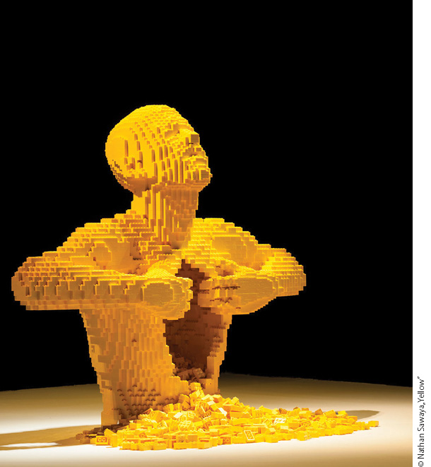 Klocki Lego i Życie